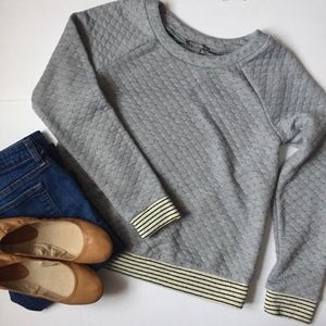 Tinley Road / quilted sweater